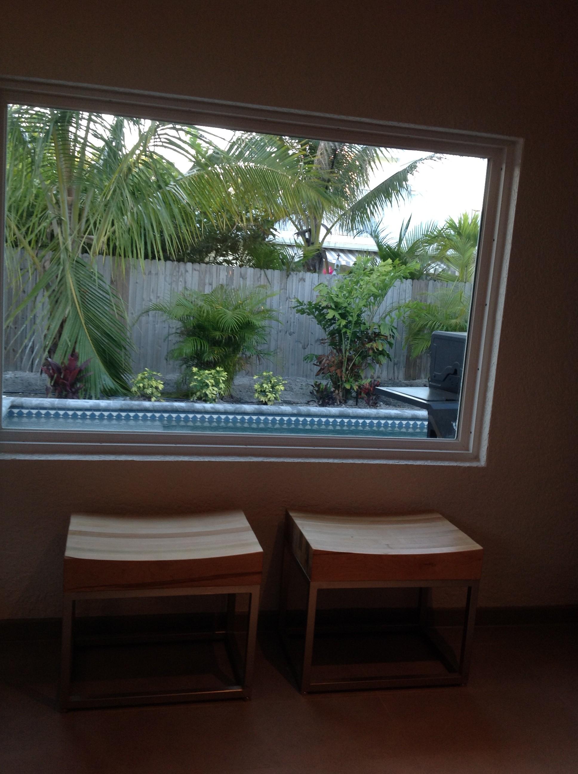New pool window